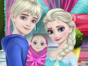 Elsa New Family Game