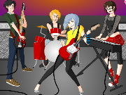 Rock Band Dress Up Game