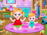 Baby Sibling Care Game