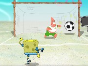 SpongeBob Soccer Shoot Out Game