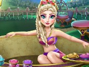 Elsa Jacuzzi Celebration Game