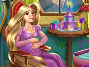 Pregnant Rapunzel Baby Shower Game