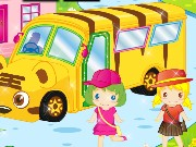 School Bus Design Game