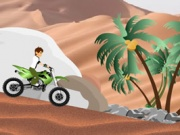 Ben 10 Desert Race Game