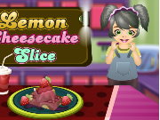 Cooking Lemon Cheese Cake Game