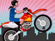 Stunt Bike Girl Game