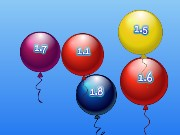 Cheack Balloon Pop Math Game