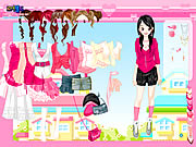Pretty in Pink Dress Up Game