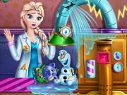 Elsa Toys Factory Game