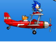 Sonic Hedgehog Sky Chase Game