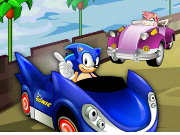 Sonic Hedgehog Racing Zone Game