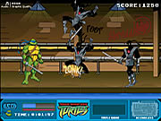 Teenage Mutant Ninja Turtles - Foot Clan Street Brawl Game