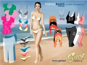 Fashion Beach Dress Up Game