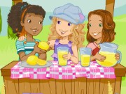 Holly Hobbie Lemonade Game