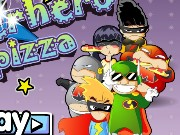 Superhero Pizza Game
