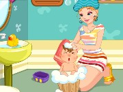Baby Bath Time Game