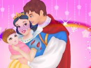 Snow White And Prince Care Newborn Princess Game