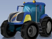 Futuristic Tractor Racing Game