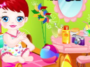 Baby Lulu Sand Fun Game