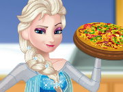 Pregnant Elsa Cooking Pizza Game