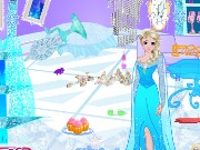 Frozen Party Cleanup Game