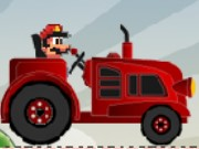 Tractor Mario vs Bullet Bill Game