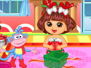 Dora Christmas Time Game