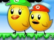 Super Mario Chick Sisters Game