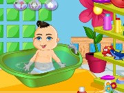 Snuggly Baby Bathing Game