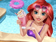 Mermaid Princess Pool Time Game