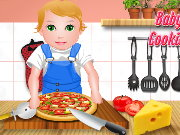 Baby Juliet Cooking Pizza Game