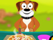 Puppy cooking pizza Game