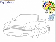 My Cabrio Coloring Game