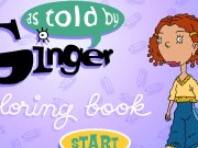 Ginger coloring book 2 Game