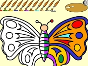 Butterfly Online Coloring Game