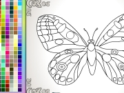 Butterfly coloring Game