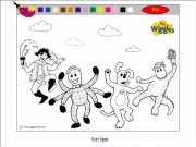The wiggles coloring Game