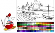 Kinder coloring Game