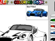 Coloring Book Cars Game