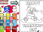 Valentines coloring Game