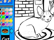 Cat Coloring 2 Game