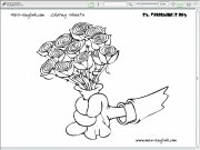 Valentines coloring 2 Game