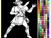 Warrior coloring Game