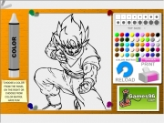 Dragon ball coloring 2 Game