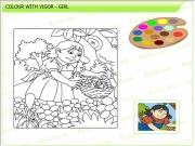 Girl Coloring 2 Game