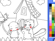 Animals coloring 5 Game