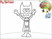 My Batman Coloring Game