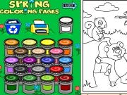 Spring coloring Game