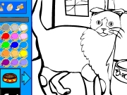 Cat coloring 4 Game
