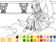 Moon Princess Coloring Game